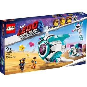 ASSEMBLAGE CONSTRUCTION LEGO® Movie 70830 Le vaisseau spatial Systar de Sw