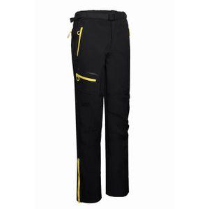 PANTALON - SHORT DE MONTAGNE Homme Pantalon De Softshell Avec Poches Fermeture