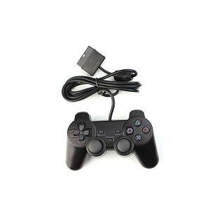 MANETTE JEUX VIDÉO Manette Dual Shock Noir Filaire Pour PS2