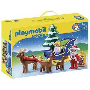 UNIVERS MINIATURE Playmobil 6787 - Figurine - Père Noël Avec Angelot
