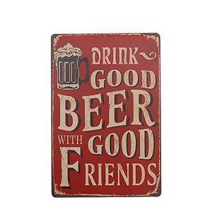 Métal Tin Signe terres privées Décor Bar Pub Accueil Rétro Vintage Poster