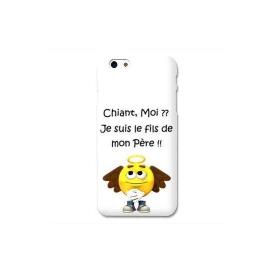 coque iphone 7 humour moi chiant b