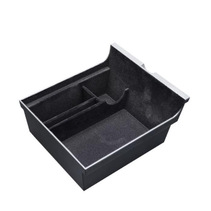 Boîte de rangement pour accoudoir Central de voiture, accessoires pour Tesla Model 3 Y 2021~Flocking 1 XL61722758