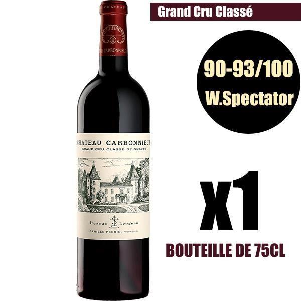 X1 Château Carbonnieux 2016 75 cl AOC Pessac-Léognan Grand Cru Classé Vin Rouge