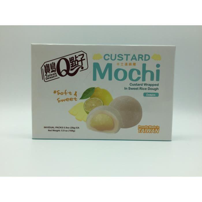 Mochi à la crème saveur lemon 168G