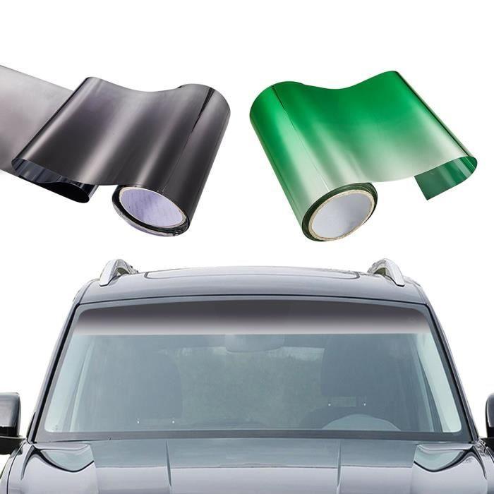 Film de teinte de voiture pare-brise - Bande de pare-soleil pour fenêtre, pare-brise UV, décalq - Modèle: 90cm150cm - ANQCFSYA02015