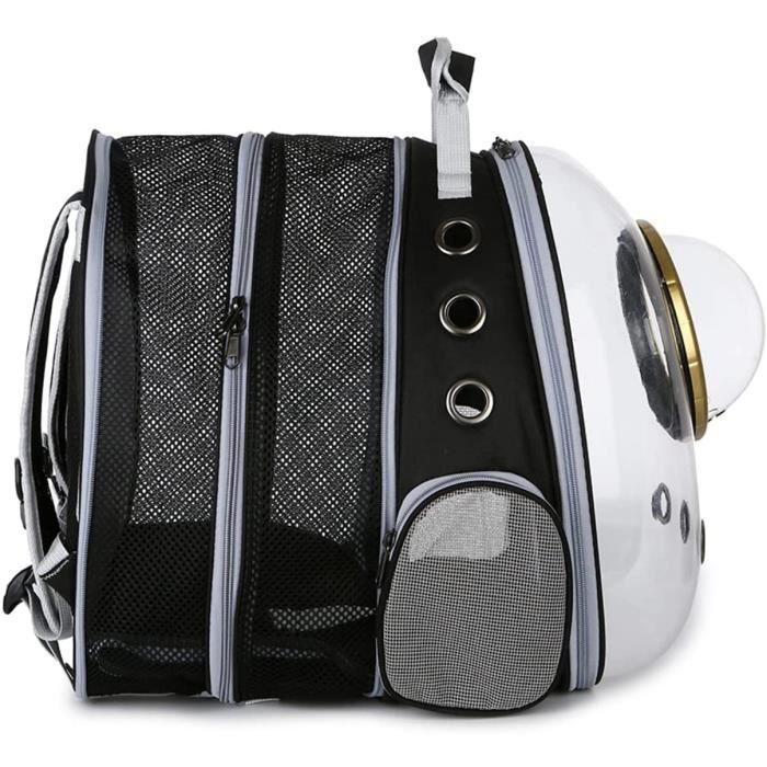 sac dos transport chat,sac a dos chat,sac de transport chien,sac pour chat,Capsule spatiale,Avec 9 trous d'aération respirants 568