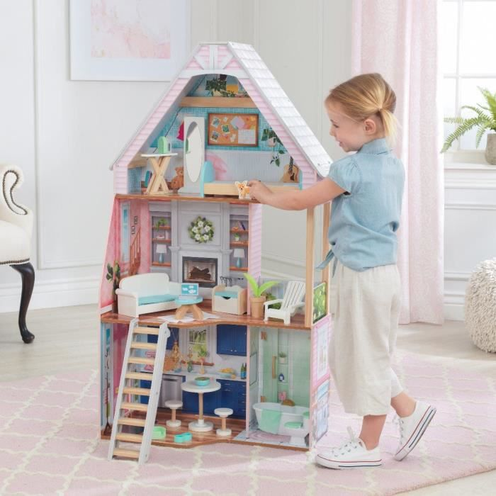 KIDKRAFT - Maison de poupées Matilda vec EZ Kraft Assembly™