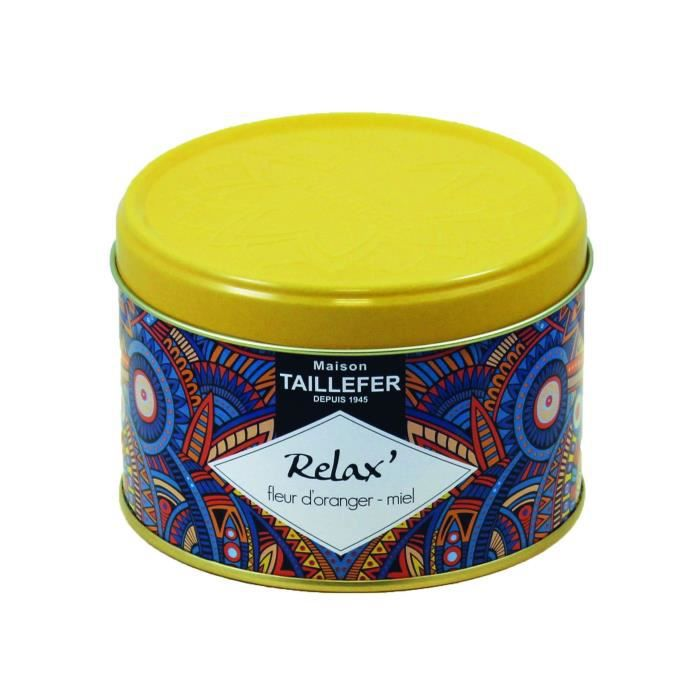 MAISON TAILLEFER Infusion Relax - Boîte 80 g