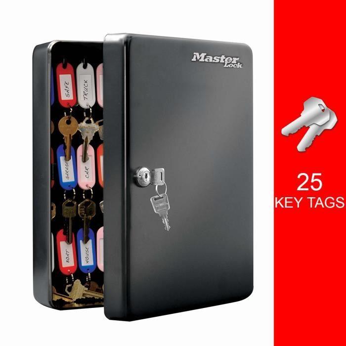 Boîte à clés pour 25 clés Masterlock KB-25ML