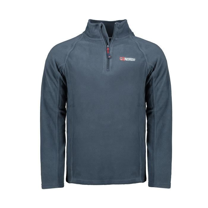 Micro Polaire Homme Geographical Norway Tug Full Zip A Marine