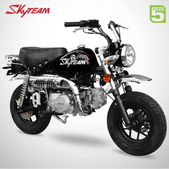 Mini Moto - MONKEY 125 - Noir - SKYTEAM