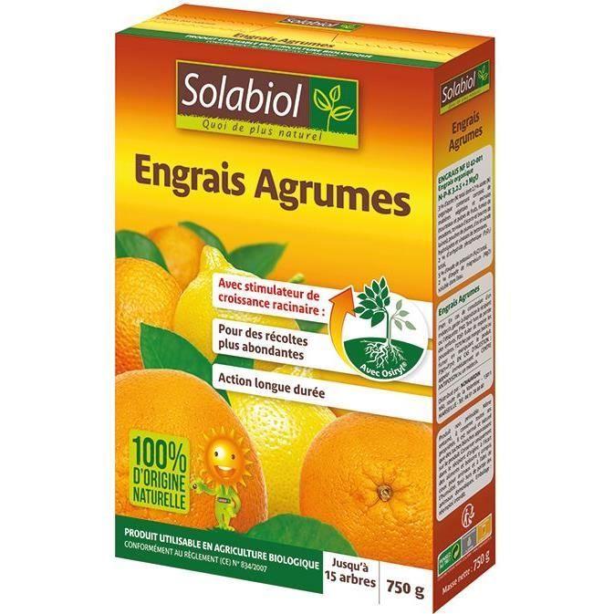 SOLABIOL Engrais agrumes - 750 g