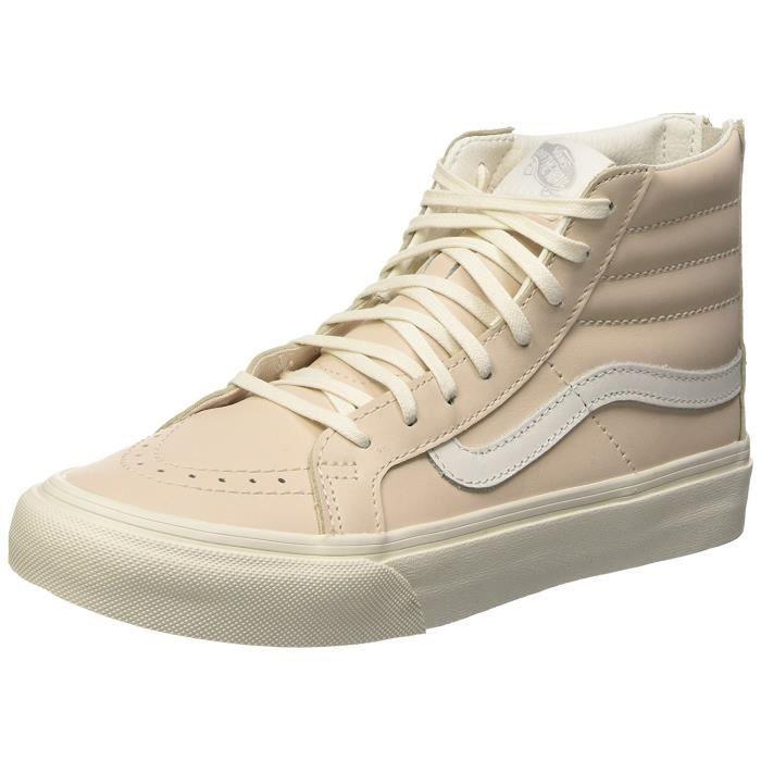 Femmes Vans Sk8 Hi Slim Zip Chaussures De Sport A La Mode