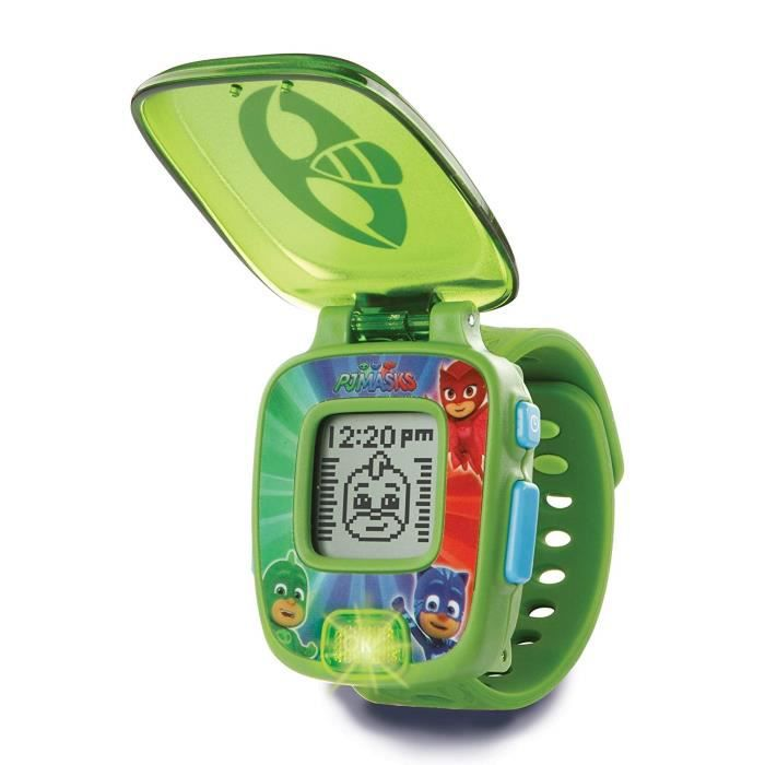 VTech 175883 - COMMUTATEUR KVM - Pyjamasques - Montre interactive Gluglu (langue: anglais)