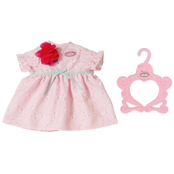 Accessoire pour poupée Zapf Creation 703083-A Baby Annabell Robe Nénuphar rouge 43 cm