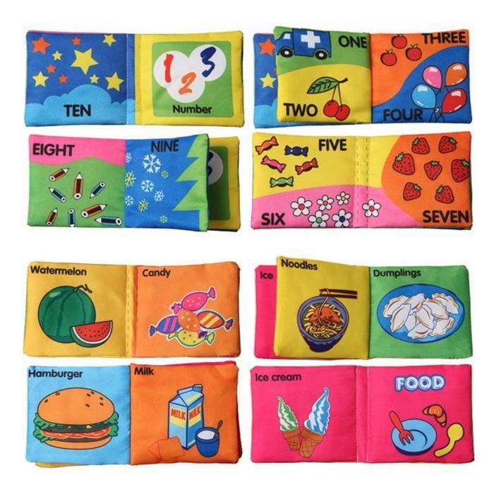 Bebe Livre En Tissu 0 1 3 Ans Bebe Petite Enfance Animaux Toy Puzzle Du Livre