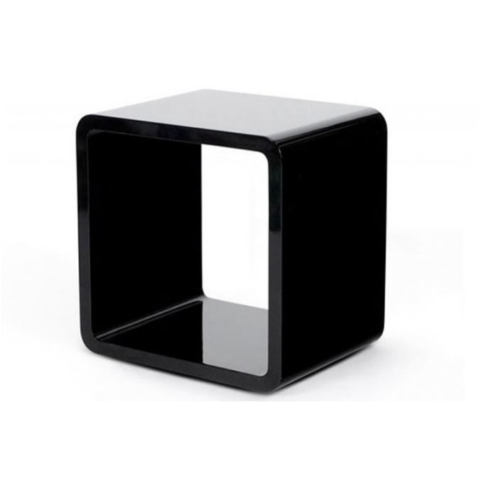 120 table de chevet cube lumineux cube xl blanc kare. Black Bedroom Furniture Sets. Home Design Ideas