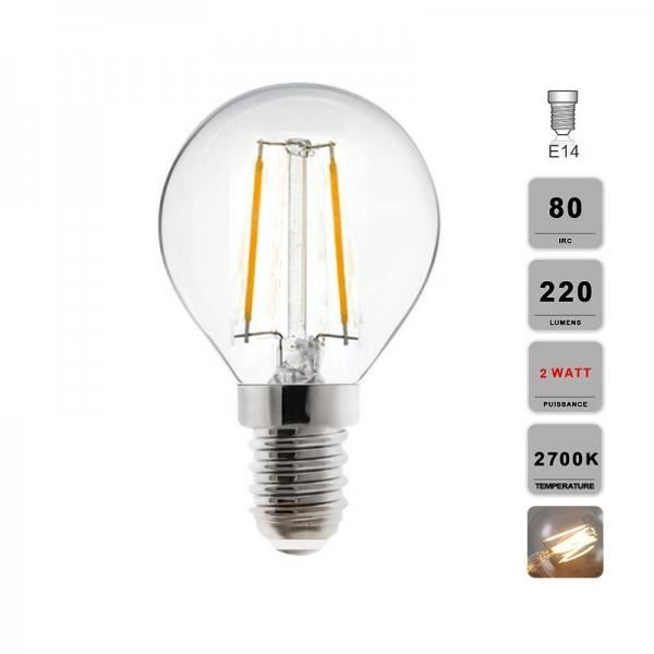lampe led filament edison r tro sph rique achat vente ampoule led soldes d t cdiscount. Black Bedroom Furniture Sets. Home Design Ideas