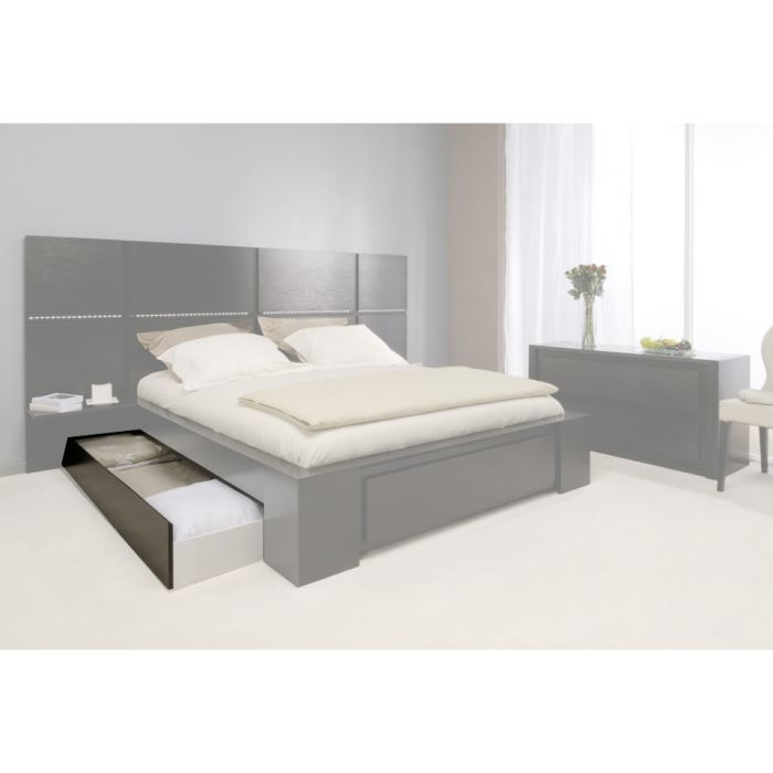tiroir swithome mirabel 160x200 weng achat vente tiroir de lit cdiscount. Black Bedroom Furniture Sets. Home Design Ideas