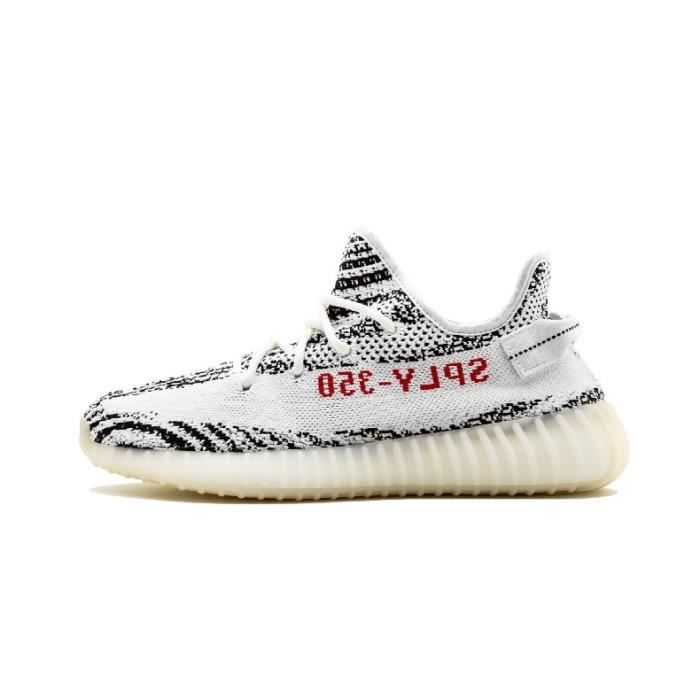 Adidas Yeezy Boost 350 V2 Blanc blanc - Cdiscount Chaussures