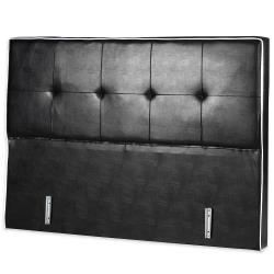 t te de lit 140 noire achat vente t te de lit t te de. Black Bedroom Furniture Sets. Home Design Ideas