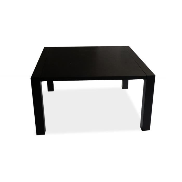 table de salle manger carr e extensible veliki 120 x 120 60 x 75 achat vente table a. Black Bedroom Furniture Sets. Home Design Ideas