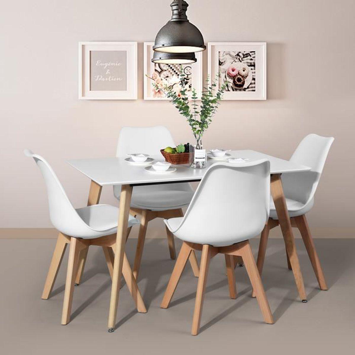 Table Salle à Manger Table à Manger De 4 à 6 Personnes Style