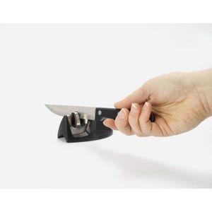 AFFUTAGE  EQUINOX Aiguiseur à couteau 9x5x4 cm noir