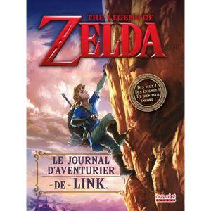 LIVRE MULTIMÉDIA Livre Le Journal d' Aventurier de Link