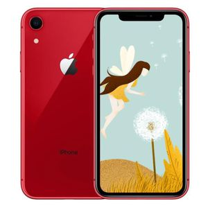 SMARTPHONE iPhone Xr 64Go Rouge Neuf - 6,1 pouces - Camera 12