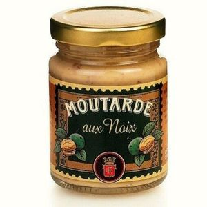 MOUTARDE lot 4 moutardes aux noix 100 gr louis roque neuf