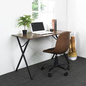 SECRÉTAIRE Bureau en bois et métal noir,Bureau informatique,W