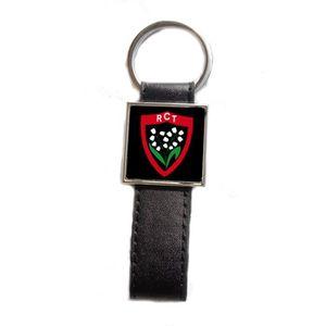 PORTE-CLÉS Porte-clés acier/simili cuir Rugby RC Toulonnais