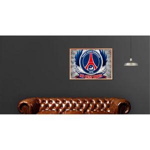 AFFICHE - POSTER Poster PSG ICI C'EST PARIS Best Logo - A4 (21x29,7