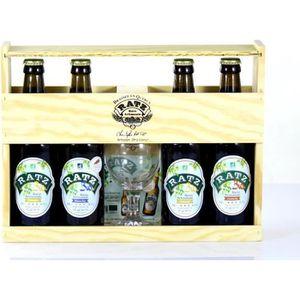 BIÈRE Coffret Bières Bio Ratz - Bières Artisanales Bio