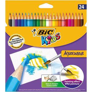 CRAYON GRAPHITE Bic Kids - Aquacouleur - Crayon de couleur effet a