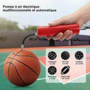 Mini Pompe /à Air Gonfleur Ballon Automatique Electrique Portable Pompe Batterie Ideal pour Basket Football Rugby Volley Handball morpilot Pompe /à Ballons avec 2 Aiguilles