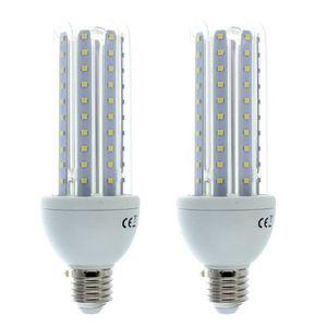 AMPOULE - LED GOBRO 2pcs Ampoule LED E27 23W=200W blanc froid