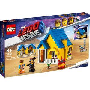 ASSEMBLAGE CONSTRUCTION LEGO® Movie 70831 La maison-fusée d'Emmet ! - La g
