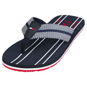 b87af74a96c7f TONG Tommy Hilfiger Stripes Print Th Beach Sandal Homme