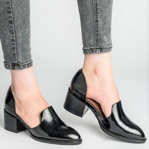 Chaussures grises 4 5 talons cm petits de à femme ZTOXPuki