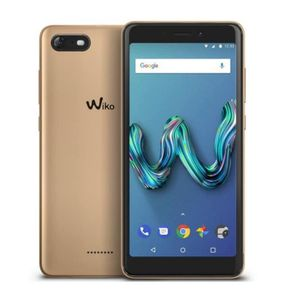 SMARTPHONE Smartphone Wiko Tommy 3 Doré + coque rouge offerte