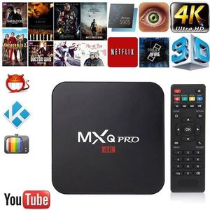 BOX MULTIMEDIA Nouveau Android 6.0 MXQ pro Amlogic Quad-core Smar