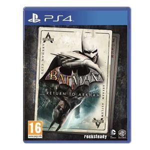 JEU PS4 Batman Return to Arkham Jeu PS4+2 boutons THUMBSTI