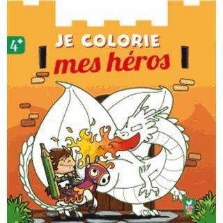 Je colorie mes héros