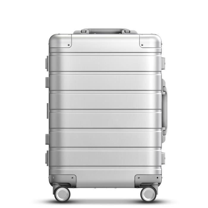 Xiaomi 20 pouces Spinner Roue Bagages Voyage Valise Carry-on avec Y ceinture Pull-tige de qualité supérieure tout en aluminium