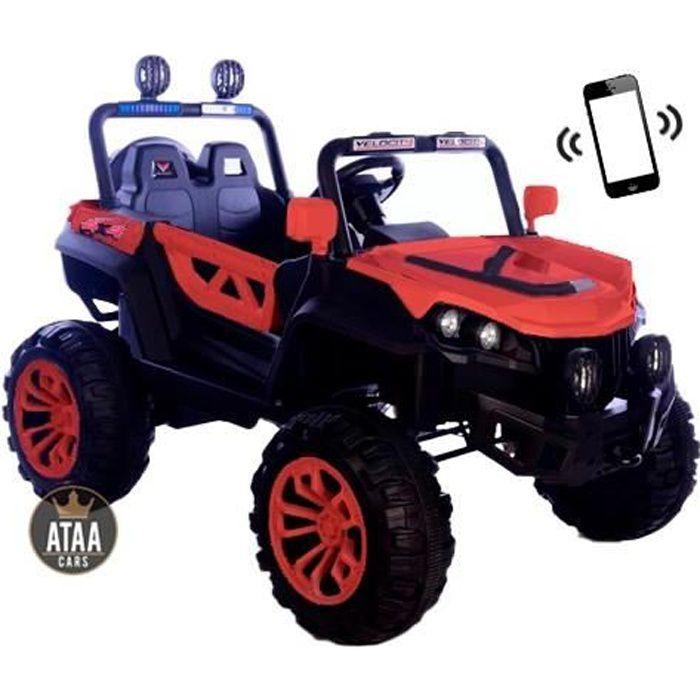 Buggy ATAA Rodeo 4x4 Rouge - Voiture Buggy électrique pour enfant avec batterie et télécommande