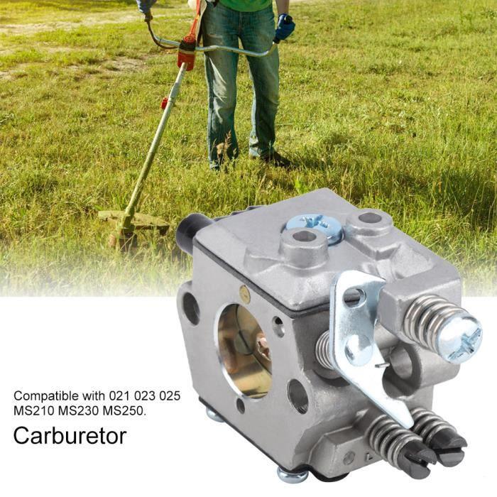 Carburateur et des pieces detachees pour tronçonneuse Stihl Carb MS210 MS230 MS250 021023025 HB050 -LAI