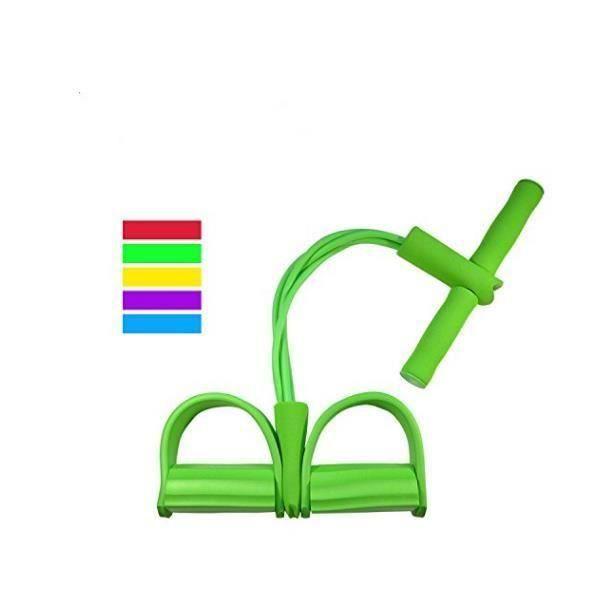 Rstar Bande élastique Elastique Resistance Bande Musculation Unisexe- Rameur à bande élastique Vert